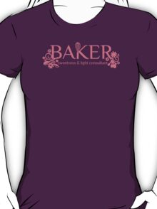 Baker sweetness and light consultant funny baking t-shirt T-Shirt