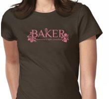 Baker sweetness and light consultant funny baking t-shirt Womens Fitted T-Shirt