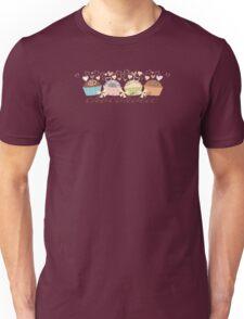 Candy chocolate truffles love hearts chocoholic t-shirt Unisex T-Shirt