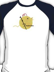 Crochet chick crochet hook ball of yarn funny t-shirt T-Shirt