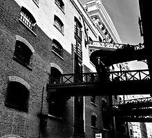 Butlers Wharf London by DavidHornchurch