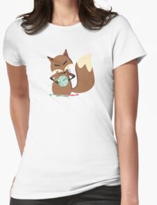 Cute fox crochet hooks fluffy yarn t-shirt T-Shirt