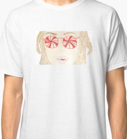 Peppermint Eyes Classic T-Shirt