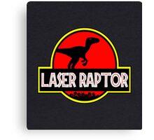 Laser Raptor Canvas Print