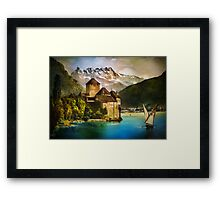 Chillon Castle Framed Print
