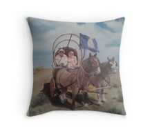 Pioneers. Throw Pillow