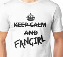 Keep Calm and Fangirl Unisex T-Shirt