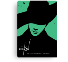 Wicked - Chris Colfer Poster Canvas Print