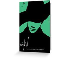 Wicked - Chris Colfer Poster Greeting Card