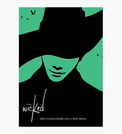 Wicked - Chris Colfer Poster Photographic Print