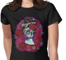 Catrina Baroque Womens Fitted T-Shirt