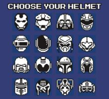 Choose Your Helmet by SamuriFerret