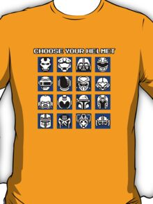 Choose Your Helmet T-Shirt