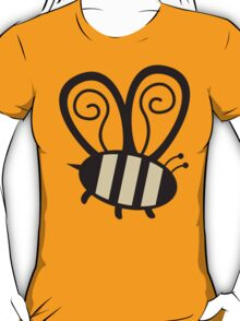 Giant cute bumble bee insect t-shirt T-Shirt