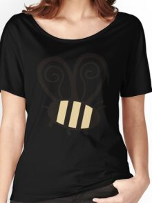 Giant cute bumble bee insect t-shirt Women's Relaxed Fit T-Shirt