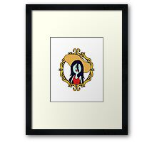 Adventure Time: Marceline the Vampire Queen Cameo Framed Print
