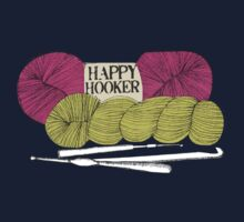 happy hooker crochet hook yarn hank skein by BigMRanch