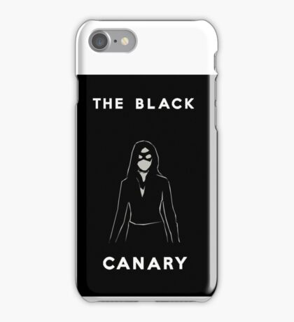 The Black Canary iPhone Case/Skin