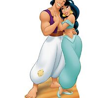 Jasmine and Aladdin by gkcrdgn