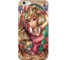 Aurora the Princess - Sleeping Beauty iPhone Case/Skin