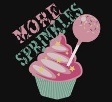 More sprinkles funny baking cupcake cake pop by BigMRanch