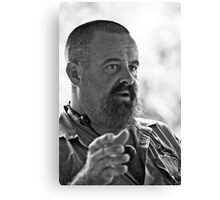 Croc Master Canvas Print