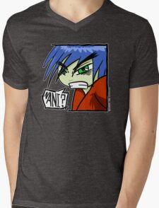 Shonen Boy Mens V-Neck T-Shirt