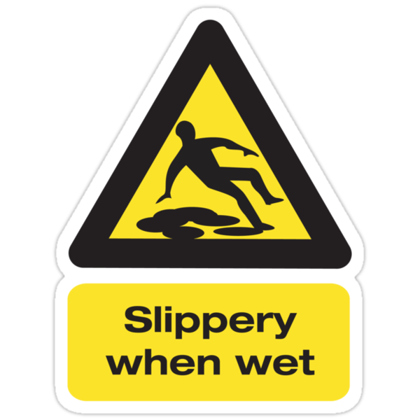 Slippery When Wet by CarbonClothing
