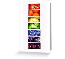 Taste The Rainbow Greeting Card
