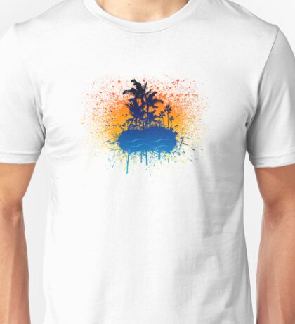 Splatter Island Unisex T-Shirt