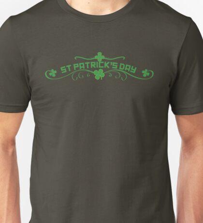 St Patricks Day Floral Unisex T-Shirt