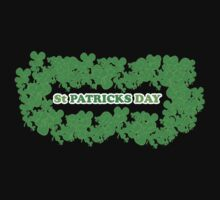 St Patricks Day Clovers One Piece - Long Sleeve