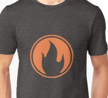 TF2 Black Pyro Emblem Unisex T-Shirt