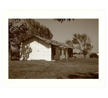 Route 66 - Abandoned Motel Art Print