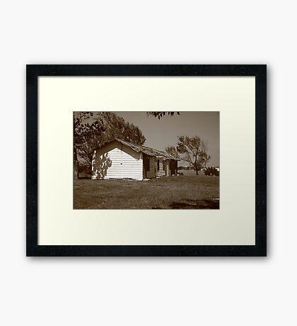 Route 66 - Abandoned Motel Framed Print