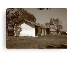 Route 66 - Abandoned Motel Canvas Print