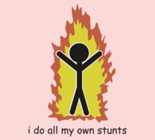 I Do All My Own Stunts One Piece - Long Sleeve