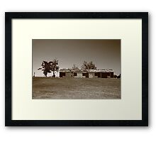Route 66 - Abandoned Motel Framed Print