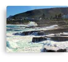 Hermanus coast, South Africa Metal Print