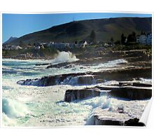 Hermanus coast, South Africa Poster