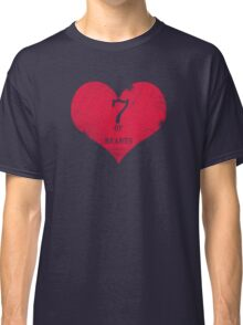 7 of Hearts - T-shirt 1 Classic T-Shirt