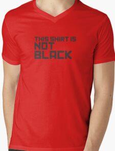 This Shirt Is Not Black Mens V-Neck T-Shirt