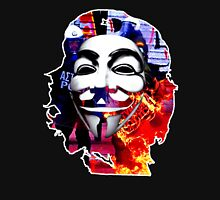 Che Guevarra Anonymous on fire Unisex T-Shirt