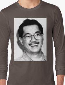 AKIRA TORIYAMA Portrait Design Long Sleeve T-Shirt