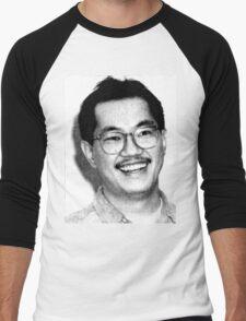 AKIRA TORIYAMA Portrait Design Men's Baseball ¾ T-Shirt