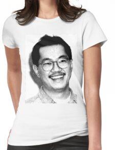 AKIRA TORIYAMA Portrait Design Womens Fitted T-Shirt