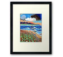 Golden Beach 1 Framed Print