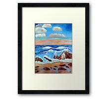 Golden Beach 2 Framed Print