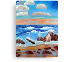 Golden Beach 2 Canvas Print