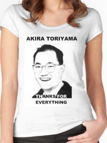 Akira Toriyama -Praise Design Women's Fitted Scoop T-Shirt
